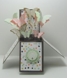 Butterfly Explosion Card