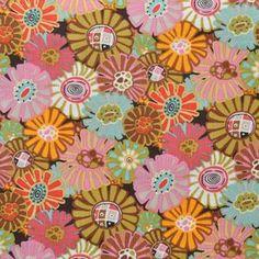 Alexander Henry House Designer - Barcelona - Marigold in Soft Pink