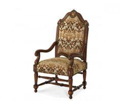 Villa Valencia High Back Wood Chair http://www.galleriafurn.com/
