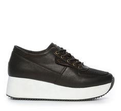 check out 4392a 057d4 Din Sko Sneakers Sneakers Skinnimitation Svart