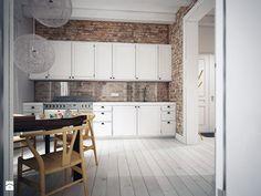 Skandynawski minimalizm - zdjęcie od NatusDESIGN - Kuchnia - Styl Skandynawski - NatusDESIGN