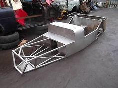 Lotus 7 / Caterham Type Body Tub Chassis Steel Kit Car Frame Abandoned Project - http://classiccarsunder1000.com/?p=77085
