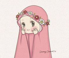 Islamic Girl 🕋📿 📿 uploaded by Naina on We Heart It Hijab Drawing, Ramadan Crafts, Islamic Cartoon, Anime Muslim, Hijab Cartoon, Cartoon Quotes, Islamic Girl, Bear Wallpaper, Kawaii