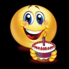 Happy Birthday to You 🎂 Funny Emoji Faces, Funny Emoticons, Smileys, Happy Birthday Emoji, Happy Birthday Wishes Cards, Emoji Images, Emoji Pictures, Smiley Emoji, Lach Smiley