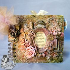 Secret Garden Mini Album with Mixed Media cover - Graphic 45