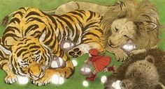 slightly demented children's stories by Yuko Shimizu, via Behance