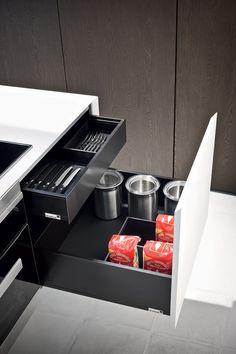 The Cut Kitchen #design #interiordesign #kitchen #salonedelmobile