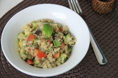 Guacamole, Risotto, Grains, Ethnic Recipes, Couscous, Cauliflowers, Kitchen, Ideas, Brazil