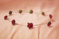 DIY Flower garland headband