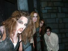 Vampires at Frightmares in Buck Hill, MN