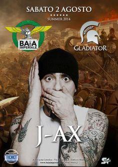 J-AX in concerto alla #BaiaImperiale #Riccione per una serata esplosiva e tutta da ricordare.