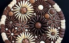 chocolate cake decorations - Google Search