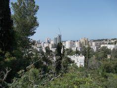 Yizraelia as seen from Givat HaShavshevet.  photo mirjam Bruck -Cohen