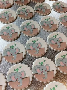 Noahs Ark Cookie Toppers by Couture Cupcakes & Cookies