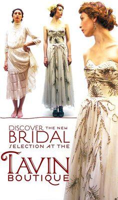 Tavin Boutique Bridal Vintage Collection