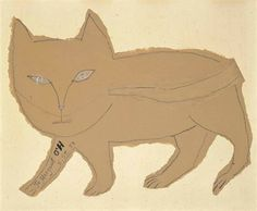 Cat by Saul Steinberg