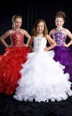 Aliexpress.com : Buy Beautiful Cheap Beadings Taffeta Flower Girl Dress Girls Pageant Dress For little Girl Party Dress from Reliable pageant dress suppliers on Suzhou Yayi Wedding Dress Co., Ltd. $98.00