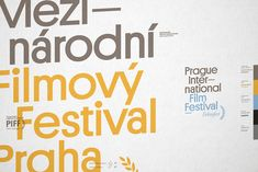 Prague Film Festival - Identity & logo