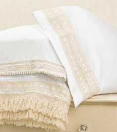 How To Make Boho Chic Embellished Pillowcases   Boho Designs