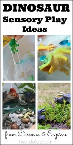 Ten fun dinosaur sensory play activities for kids!