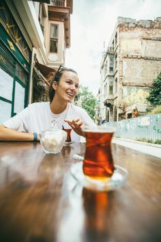 16. Sitting down for Turkish tea: An afternoon break for some Turkish tea is a must. Everywhere you go, you'll find people sitting down to çay. In fact, Turkey has the highest annual per capita consumption of tea in the world.