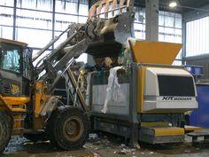 SRF / RDF shredder