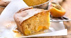 Gâteau moelleux aux pêchesVoir la recette >>