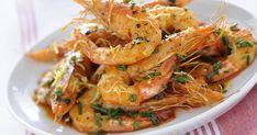 Gamberoni saltati al cognac Prawn, Shrimp, How To Cook Fish, Fish Dinner, Sweet Chili, Scampi, Italian Cooking, I Want To Eat, Instagram Feed
