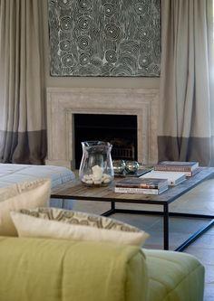 Marco Meneguzzi Design 3 Спальня главная Шторы -камин
