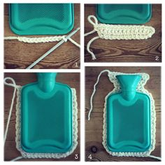 Hot Water Bottle Crochet Cover Tutorial  II    Next on the project list