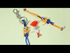Nylon Thread Craft - How to Make Homemade Halloween Keychain