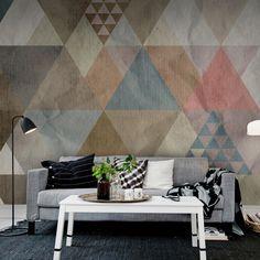 haal de natuur in huis - met behang - wilma | pinterest - natuur, Deco ideeën