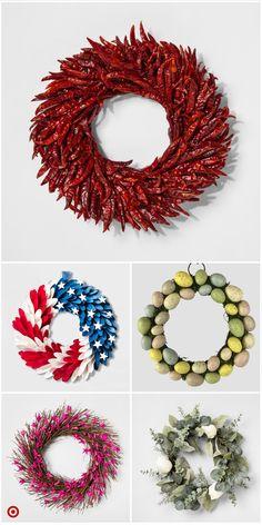Shop Target for arti Pine Cone Crafts, Wreath Crafts, Diy Wreath, Holiday Wreaths, Holiday Crafts, Christmas Crafts, Christmas Ornaments, Mesh Wreaths, Xmas