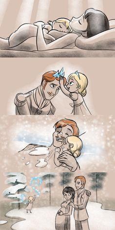 Frozen art.