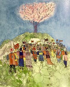 "Brian Wildsmith. ""The Cherry Tree""."