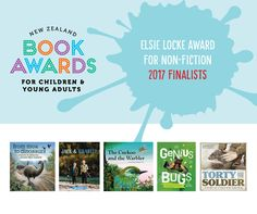 Finalists in Non-fiction 2017 NZ Children's book awards
