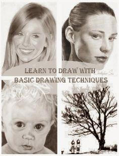 Learning to Draw With Basic Drawing Techniques - here are the basic drawing techniques you will need to learn if you want to start out with drawing.