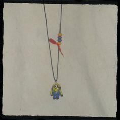 χειροποίητο κρεμαστό για το λαιμό Minions Pendant Necklace, Jewelry, Jewlery, Bijoux, Schmuck, Jewerly, Jewels, Jewelery, Drop Necklace