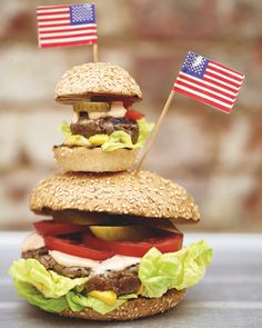 Best Burgers ever! On the menu tonight with Truffle Parmesan French Fries...YUM!:)