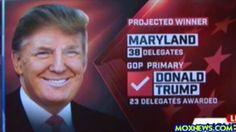 DONALD TRUMP WINS PENNSYLVANIA! MARYLAND! AND CONNECTICUT! HILLARY WINS ...