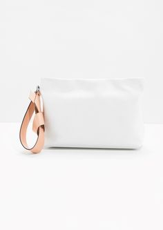 & Other Stories | Leather Clutch