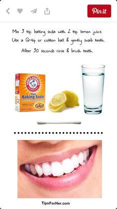 Teeth whitening#easy