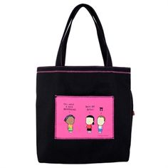Angry Little Girls Back Off Tote