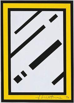 Mirror, Roy Lichtenstein, 1990