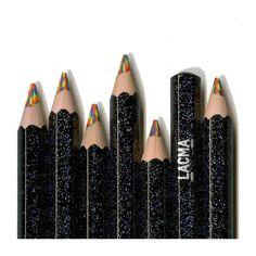 LACMA Neon Glitter Pencil