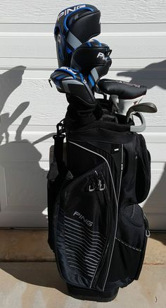 PING complete set of G30 clubs PING Traverse Golf Bag #PING