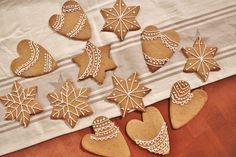 Gingerbread Gingerbread Cookies, Baking, Desserts, Food, Gingerbread Cupcakes, Tailgate Desserts, Deserts, Bakken, Eten