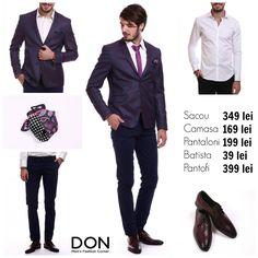 Shop The Look, 1.040 lei don-men.com #donmen #shoponline
