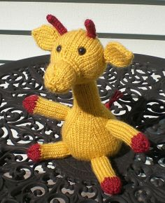 """Melman the Giraffe - Free Knitting Pattern - PDF click """"download"""" or """"free Ravelry download"""" here: http://www.ravelry.com/patterns/library/melman-the-giraffe"""