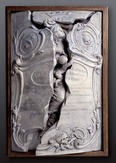 morbid gravestone of Maria Magdelana Langhans, the beautiful 28 year old wife of the local parish priest of Hindelbank, Switzerland who died in childbirth. Bern, Maria Magdalena, Grave Monuments, Stillborn, Old Wife, Academic Art, Cemetery Art, Museum, Memento Mori